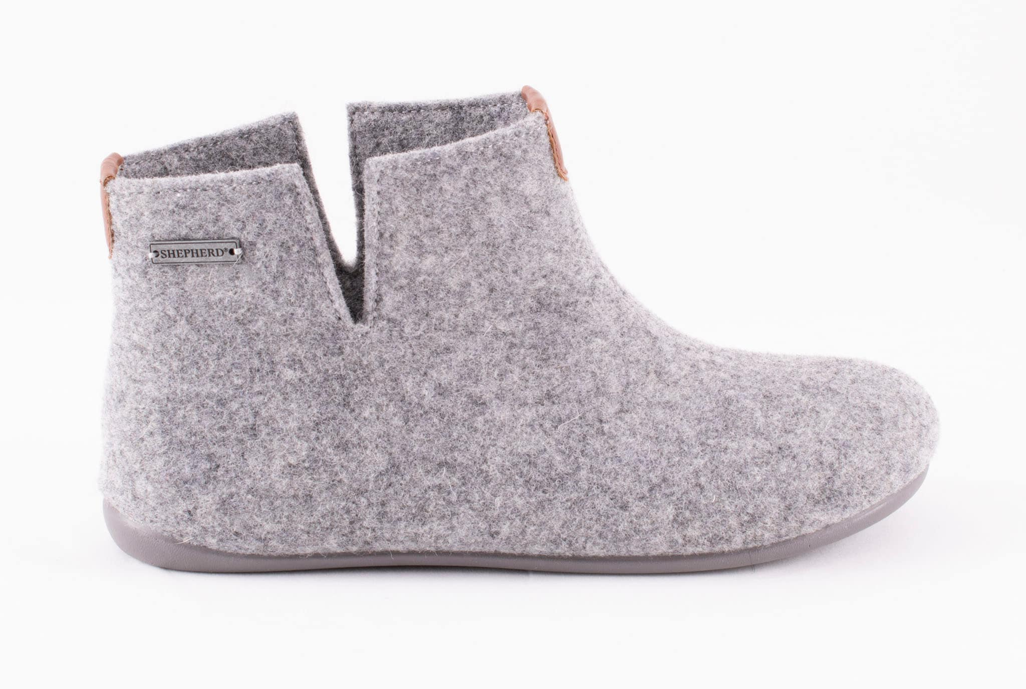 Ester wool slippers Grey