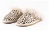 Evelina toffel Honey leopard